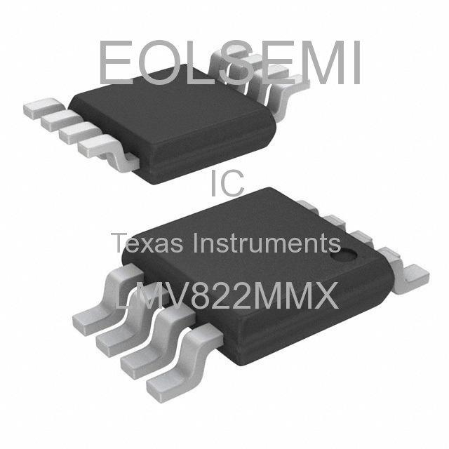 LMV822MMX - Texas Instruments