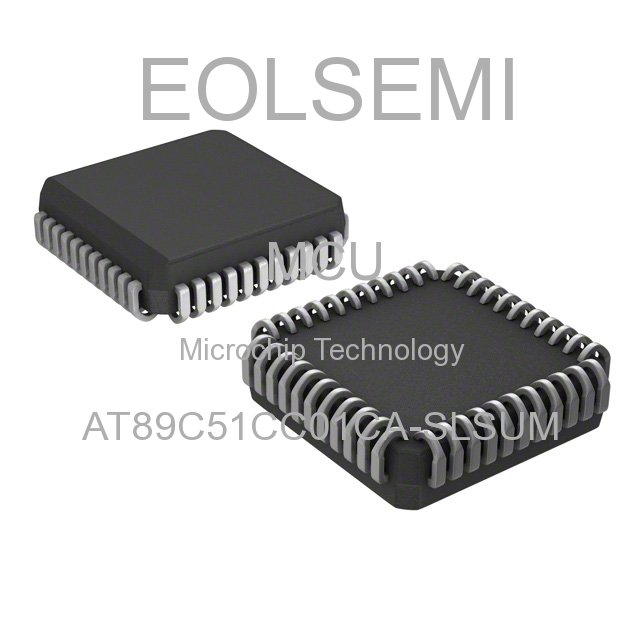 AT89C51CC01CA-SLSUM - Microchip Technology