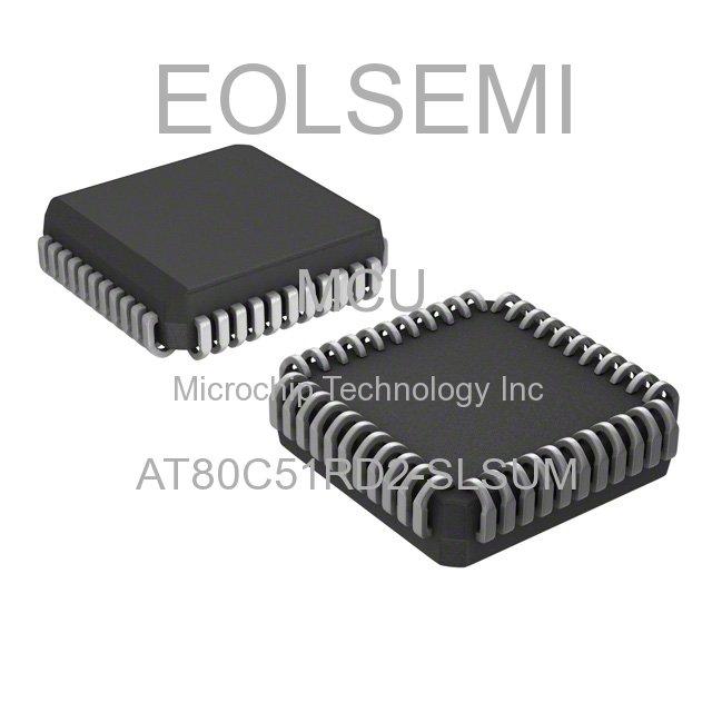 AT80C51RD2-SLSUM - Microchip Technology Inc