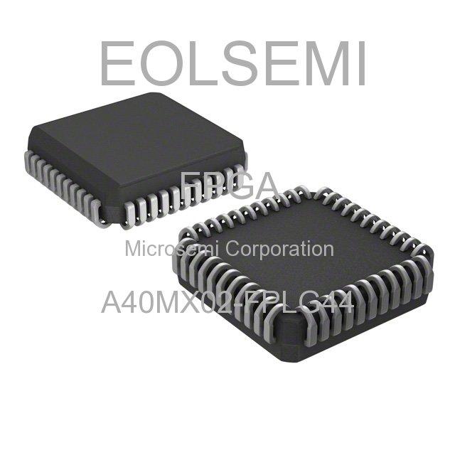 A40MX02-FPLG44 - Microsemi Corporation