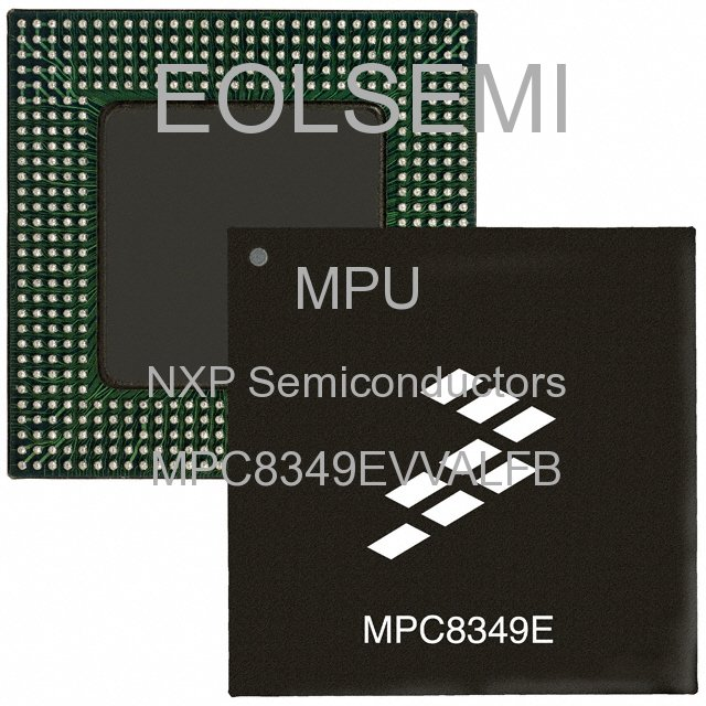 MPC8349EVVALFB - NXP Semiconductors