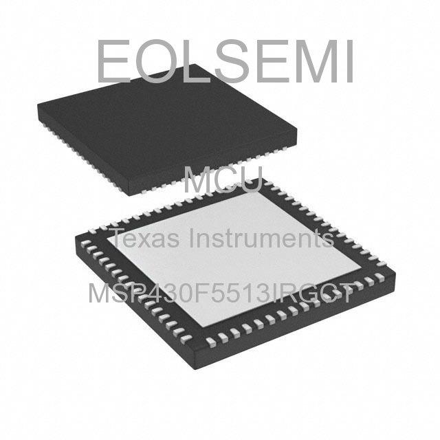 MSP430F5513IRGCT - Texas Instruments