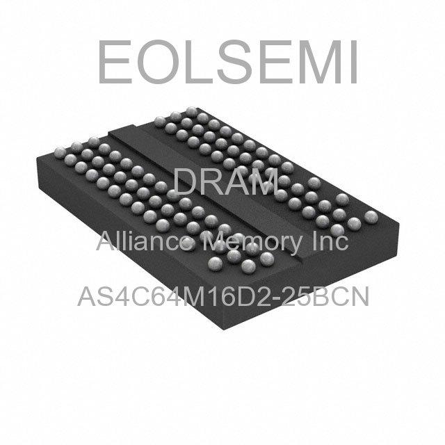 AS4C64M16D2-25BCN - Alliance Memory Inc -