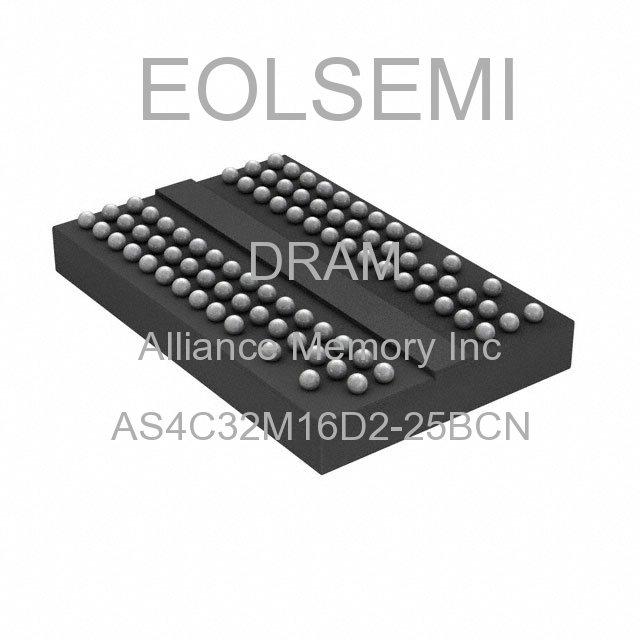 AS4C32M16D2-25BCN - Alliance Memory Inc -