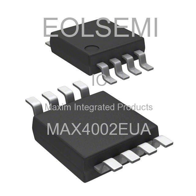 MAX4002EUA - Maxim Integrated Products