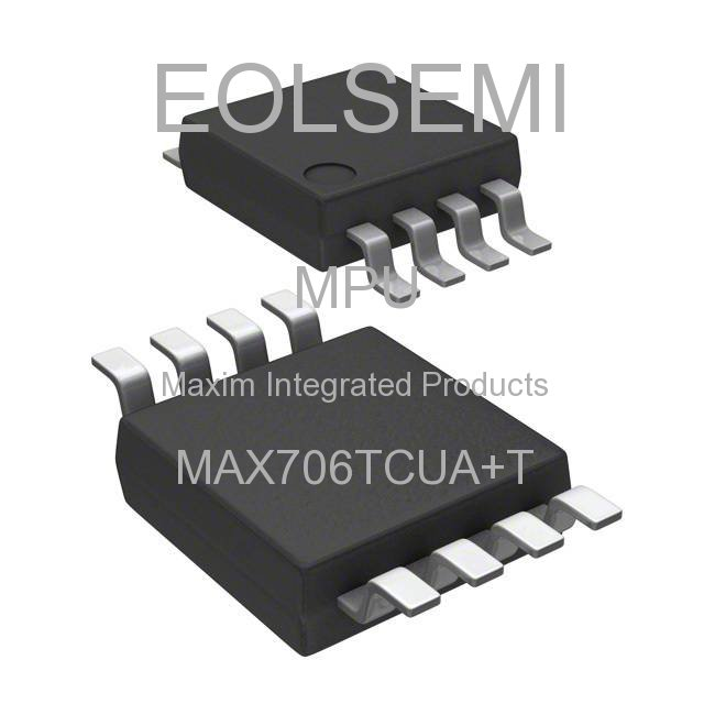MAX706TCUA+T - Maxim Integrated Products