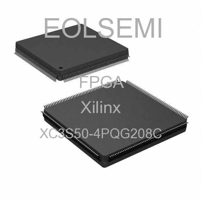 XC3S50-4PQG208C - Xilinx