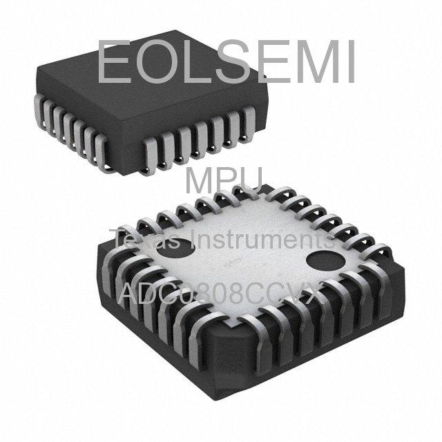 ADC0808CCVX - Texas Instruments - MPU