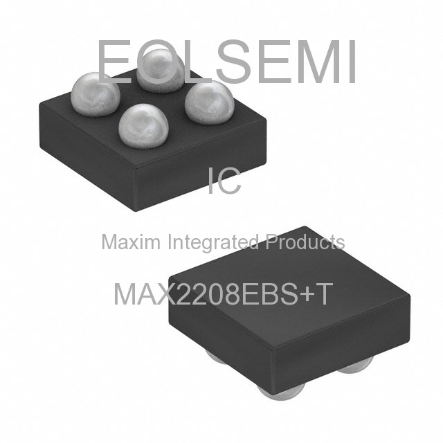 MAX2208EBS+T - Maxim Integrated Products