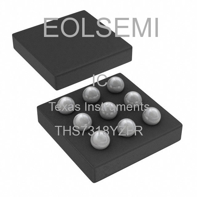 THS7318YZFR - Texas Instruments