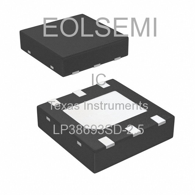 LP38693SD-2.5 - Texas Instruments