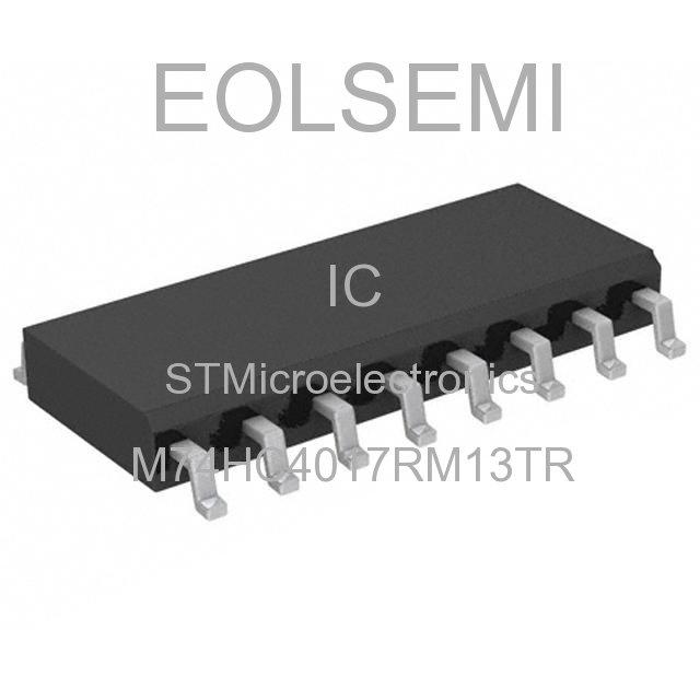 M74HC4017RM13TR - STMicroelectronics