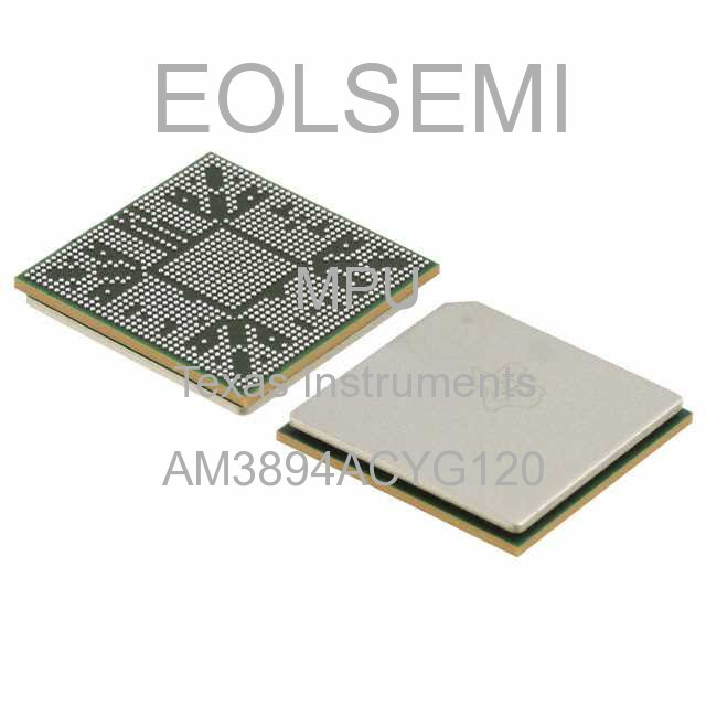 AM3894ACYG120 - Texas Instruments - MPU