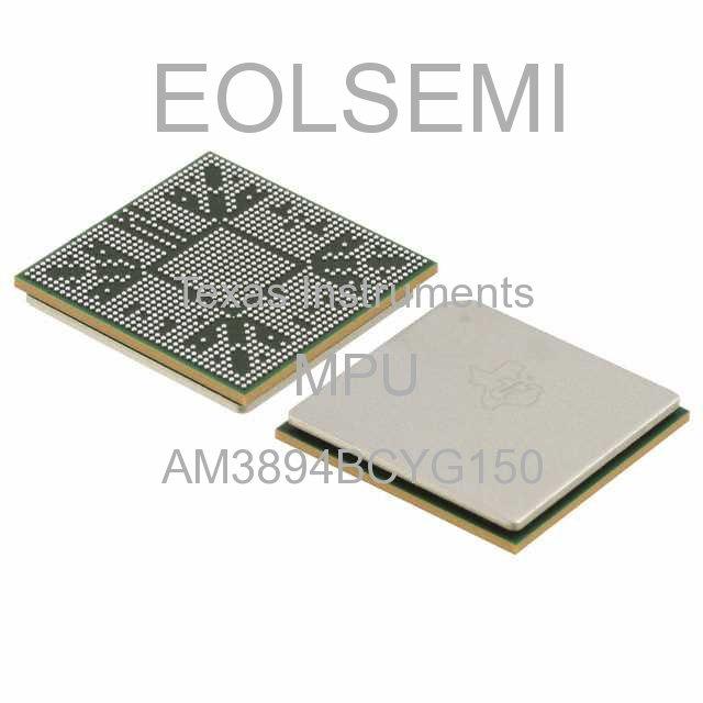 AM3894BCYG150 - Texas Instruments - MPU