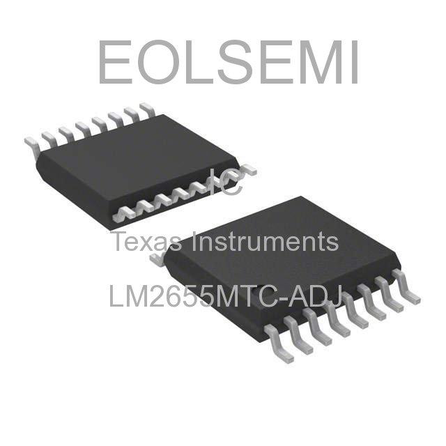 LM2655MTC-ADJ - Texas Instruments
