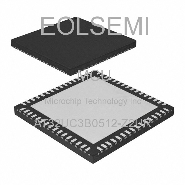 AT32UC3B0512-Z2UR - Microchip Technology Inc