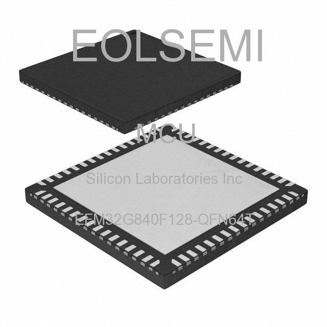 EFM32G840F128-QFN64T - Silicon Laboratories Inc