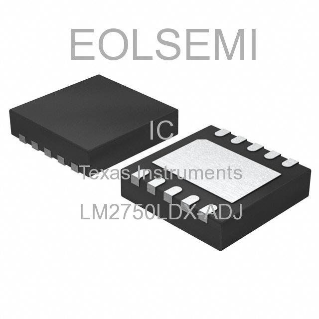 LM2750LDX-ADJ - Texas Instruments
