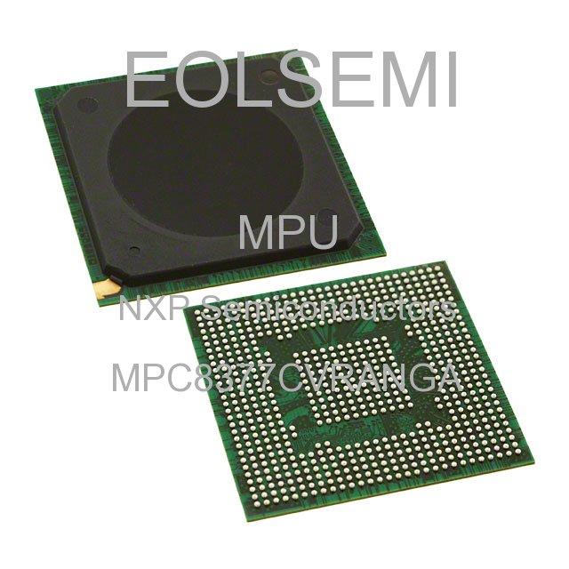 MPC8377CVRANGA - NXP Semiconductors