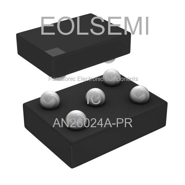 AN26024A-PR - Panasonic Electronic Components - IC