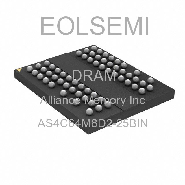 AS4C64M8D2-25BIN - Alliance Memory Inc -