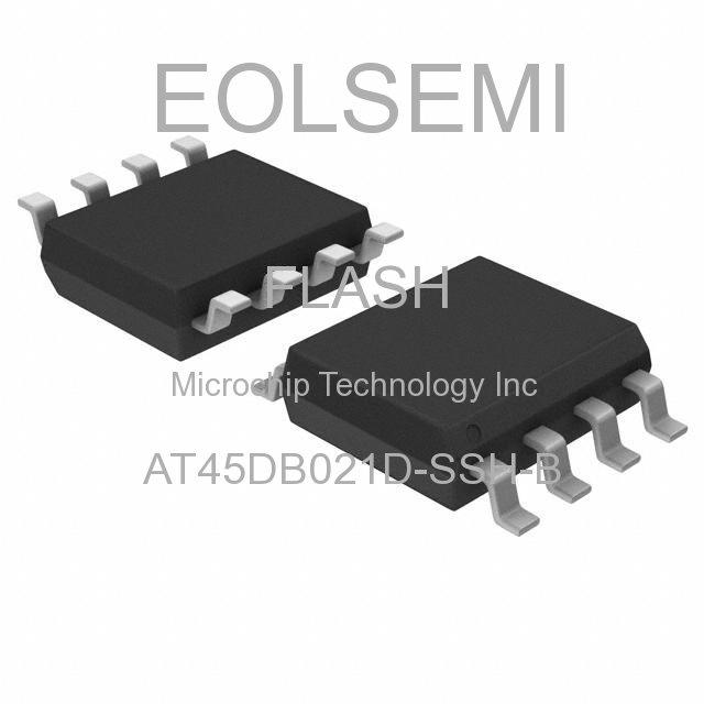 AT45DB021D-SSH-B - Microchip Technology Inc