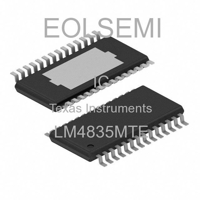 LM4835MTE - Texas Instruments