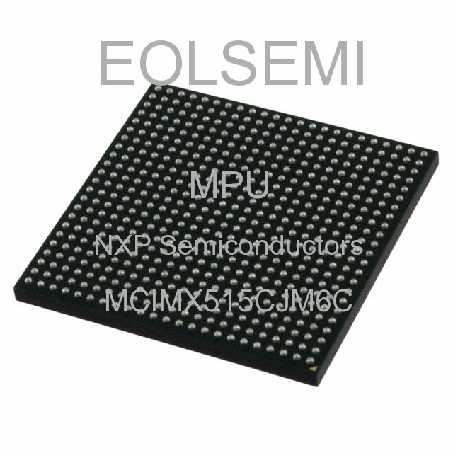 MCIMX515CJM6C - NXP Semiconductors