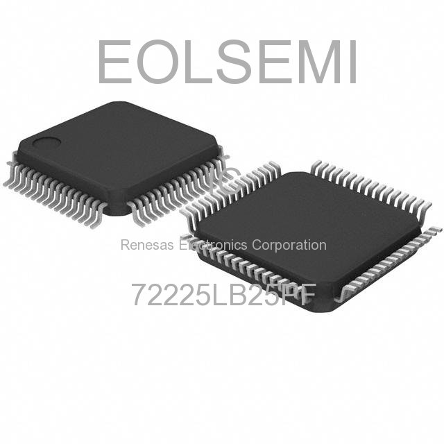 72225LB25PF - Renesas Electronics Corporation - IC
