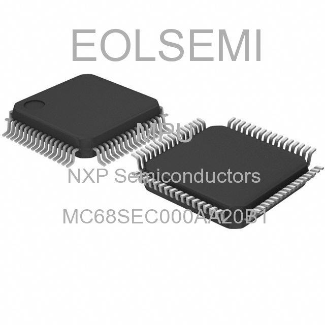 MC68SEC000AA20B1 - NXP Semiconductors