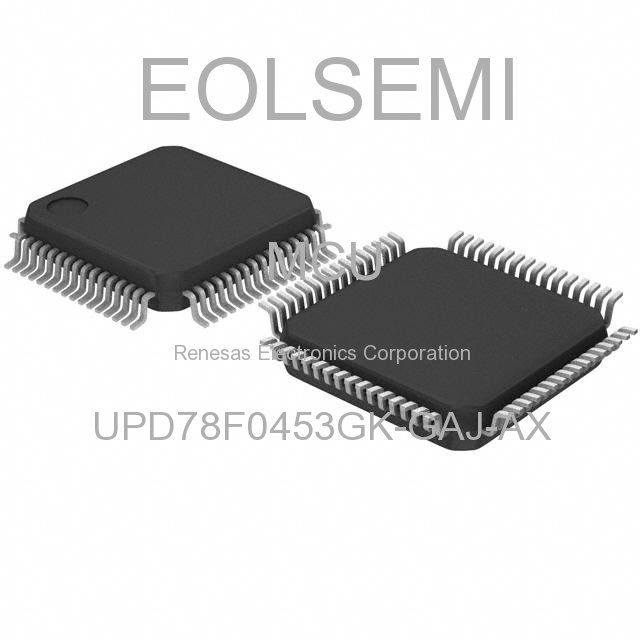 UPD78F0453GK-GAJ-AX - Renesas Electronics Corporation