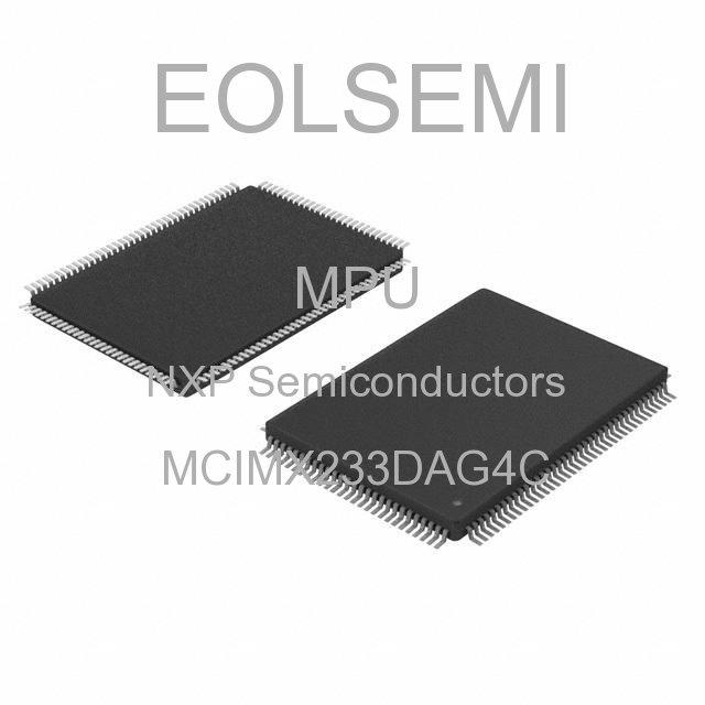 MCIMX233DAG4C - NXP Semiconductors