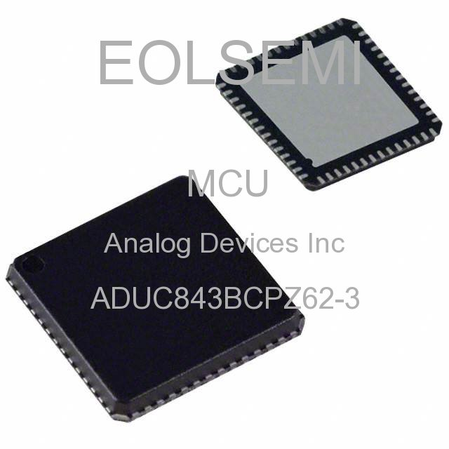 ADUC843BCPZ62-3 - Analog Devices Inc -