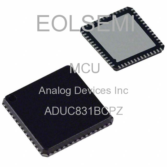ADUC831BCPZ - Analog Devices Inc