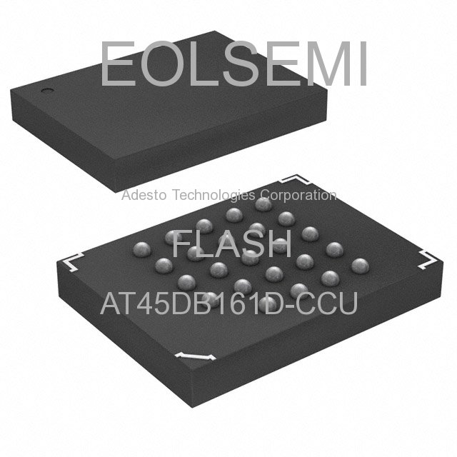 AT45DB161D-CCU - Adesto Technologies Corporation - FLASH