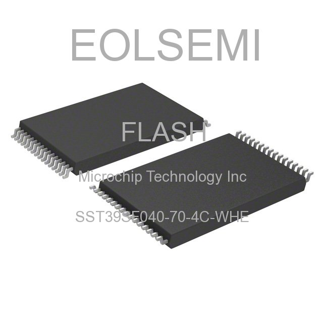 SST39SF040-70-4C-WHE - Microchip Technology Inc