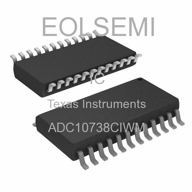 ADC10738CIWM - Texas Instruments - IC