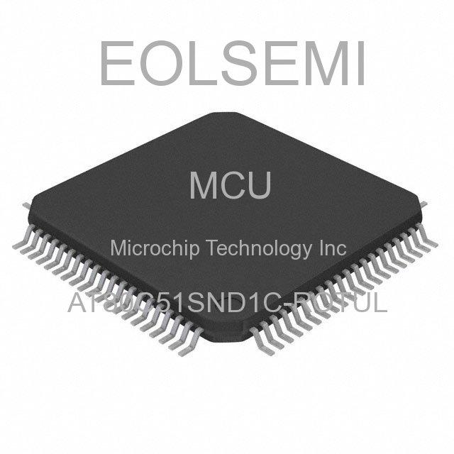 AT80C51SND1C-ROTUL - Microchip Technology Inc