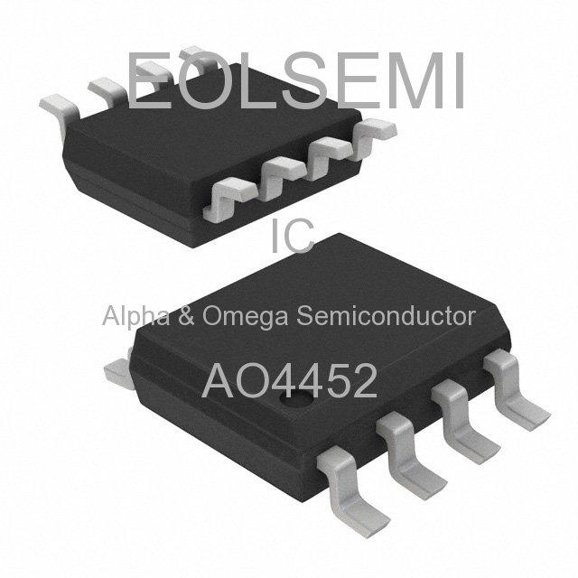 AO4452 - Alpha & Omega Semiconductor -