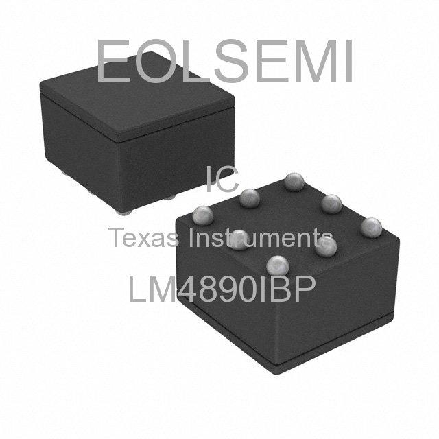 LM4890IBP - Texas Instruments