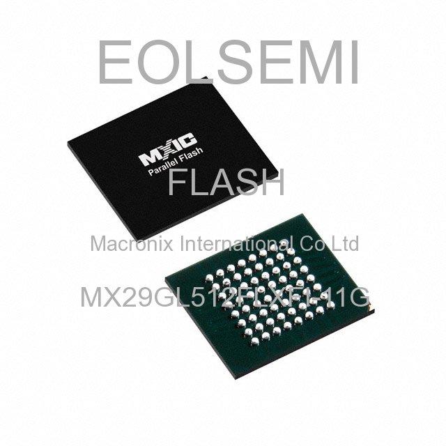 MX29GL512FLXFI-11G - Macronix International Co Ltd