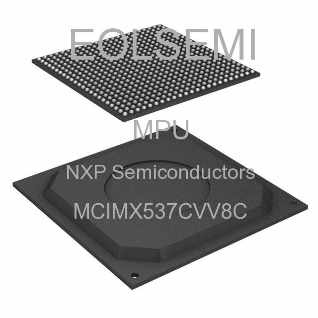 MCIMX537CVV8C - NXP Semiconductors