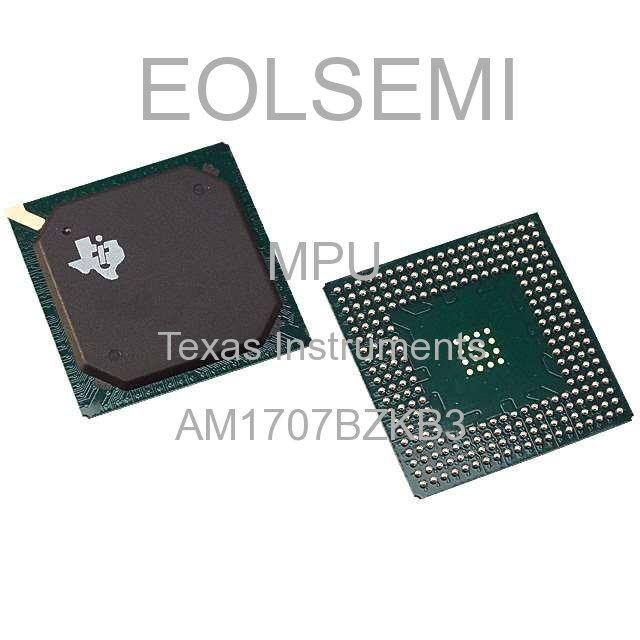 AM1707BZKB3 - Texas Instruments - MPU
