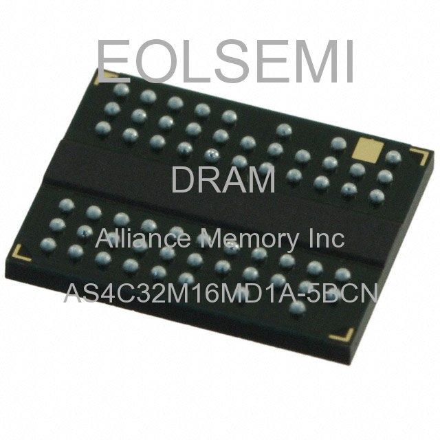 AS4C32M16MD1A-5BCN - Alliance Memory Inc -