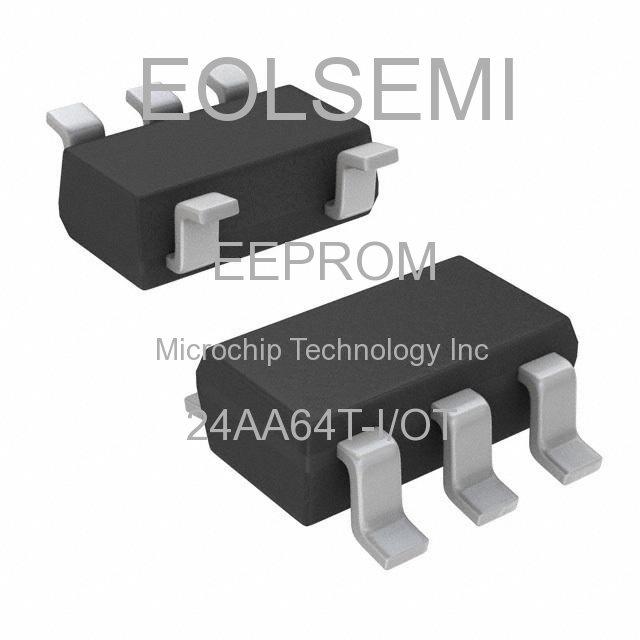 24AA64T-I/OT - Microchip Technology Inc - EEPROM