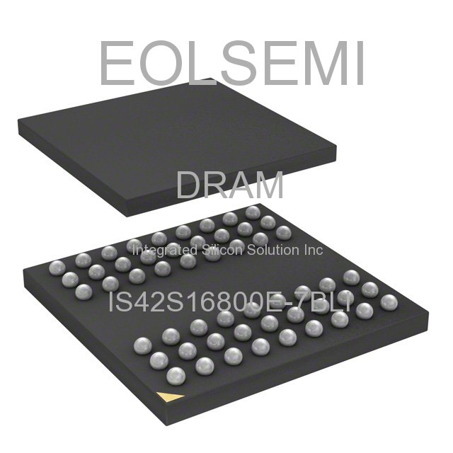 IS42S16800E-7BLI - Integrated Silicon Solution Inc