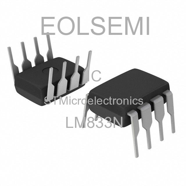 LM833N - STMicroelectronics