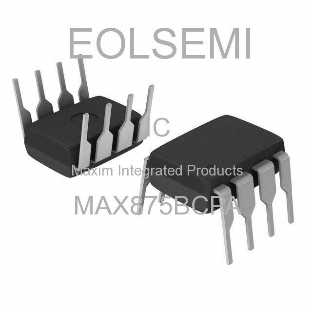 MAX875BCPA - Maxim Integrated Products