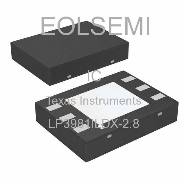 LP3981ILDX-2.8 - Texas Instruments