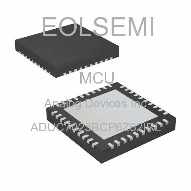 ADUC7023BCP6Z62IRL - Analog Devices Inc